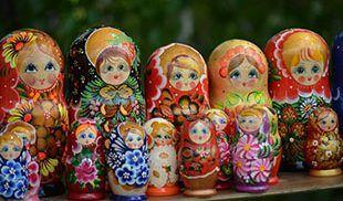 Matriošky ruské