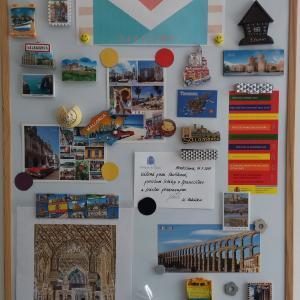 Magnetky od študentov španielčiny