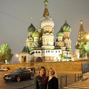 Fotka lektorov ruštiny v Moskve