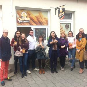 Študenti španielčiny na churros v Trnave