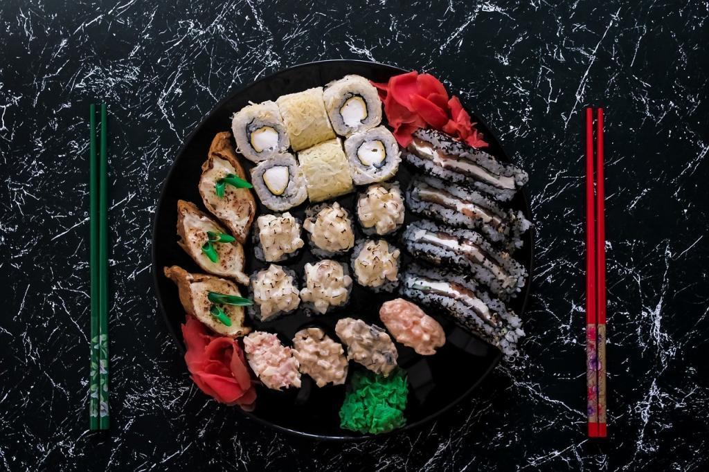 japončina sushi