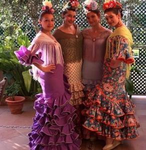 Tanečníčky flamenca
