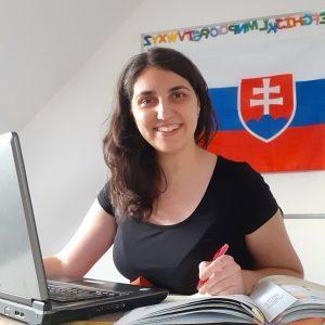 Učiteľka slovenčiny Martina