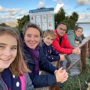 Lektorka Elena s rodinou